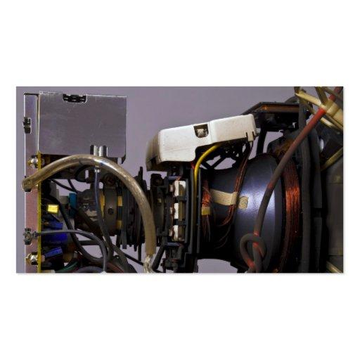 Cathode Ray Tube Business Card