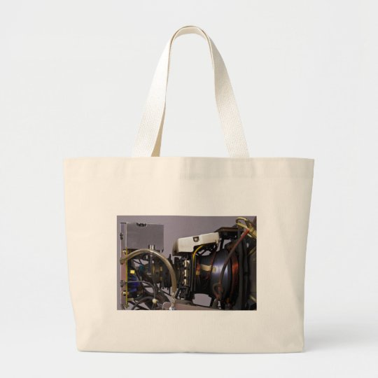 Cathode Ray Tube Large Tote Bag