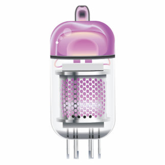 Cathode Ray Tube Pink Statuette