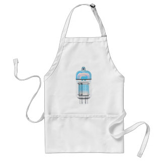 Cathode Ray Tube Sky Adult Apron