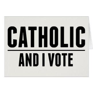 Cathoilc Voter Card