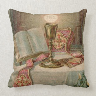 Catholic Pillows Decorative Amp Throw Pillows Zazzle