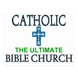 Catholic Bible Church Postcard