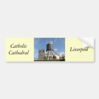 Catholic Cathedral - Liverpool Bumper Sticker