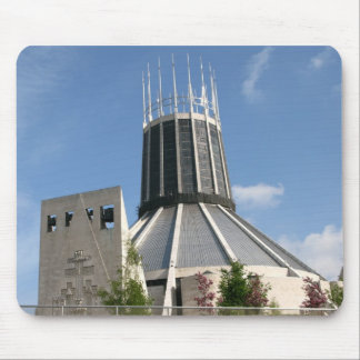 Catholic Cathedral - Liverpool Mouse Pad