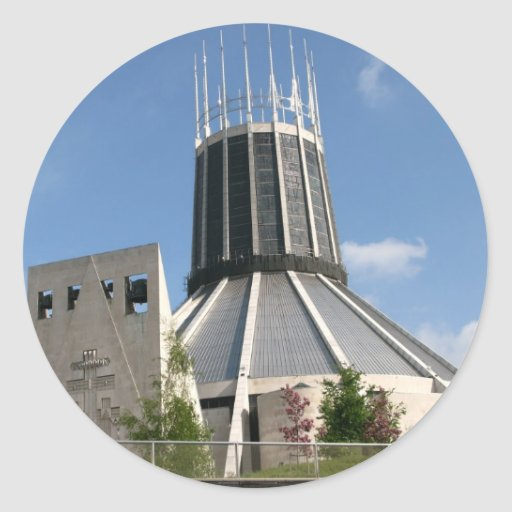 Catholic Cathedral - Liverpool Sticker