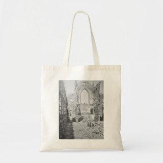 Catholic Cathedral Ruins During Civil War, 1865 Canvas Bag