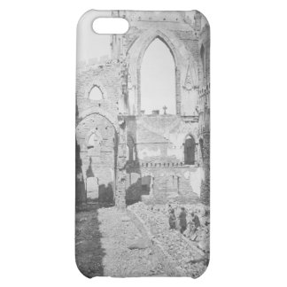 Catholic Cathedral Ruins During Civil War, 1865 iPhone 5C Covers