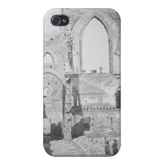 Catholic Cathedral Ruins During Civil War, 1865 iPhone 4 Case
