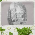 Catholic Cathedral Ruins During Civil War, 1865 Towel