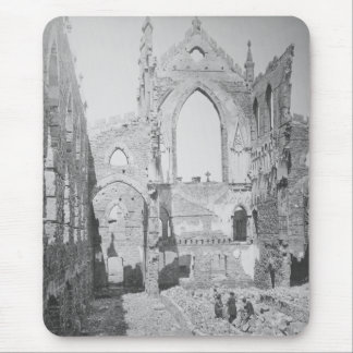 Catholic Cathedral Ruins During Civil War, 1865 Mouse Pad