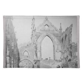 Catholic Cathedral Ruins During Civil War, 1865 Placemat