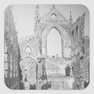 Catholic Cathedral Ruins During Civil War 1865 Sticker
