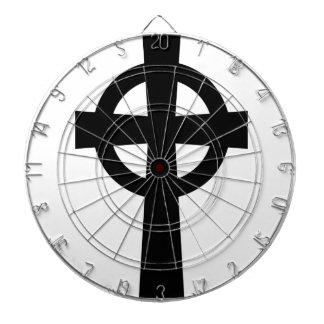 Catholic Celtic Cross Dartboard With Darts