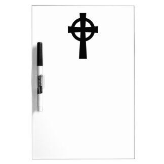 Catholic Celtic Cross Dry-Erase Board