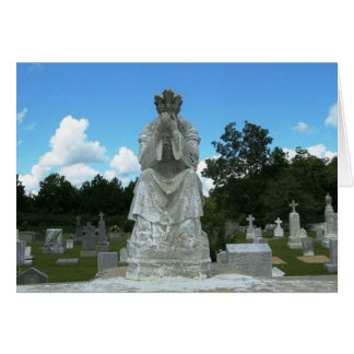 Catholic Cemetery Card