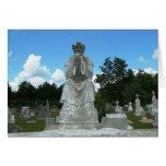 Catholic Cemetery Greeting Card