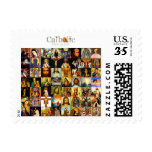 Catholic Church 33 A.D. Saints Postage Stamp