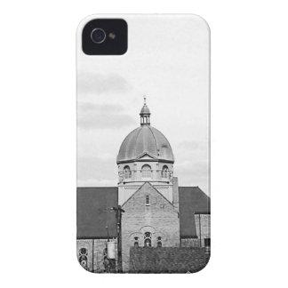 Catholic Church Black and White Fine Art iPhone 4 Covers
