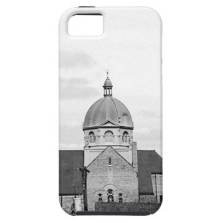 Catholic Church Black and White Photo Phone Case