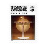 Catholic Church Cross Stamp