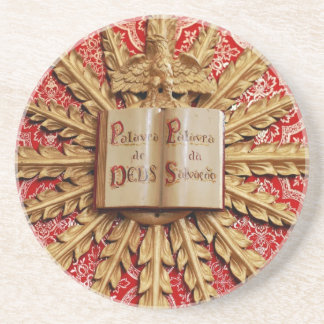 Catholic church decorations drink coasters