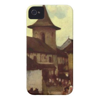 Catholic Church in Cimpulung by Nicolae Grigorescu iPhone 4 Covers