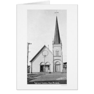 Catholic Church Nome Alaska 1921 Greeting Card