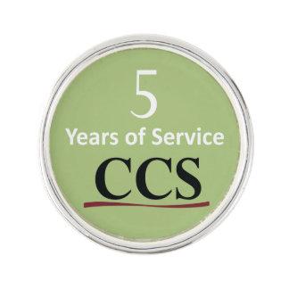 Catholic Community Services 5 Year Lapel Pin