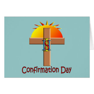 Catholic Confirmation Day for Kids Card