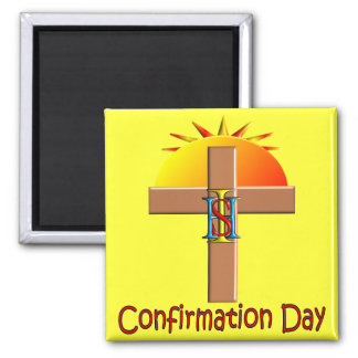 Catholic Confirmation Day for Kids Magnet