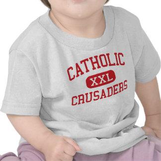 Catholic - Crusaders - High - New Iberia Louisiana T Shirts