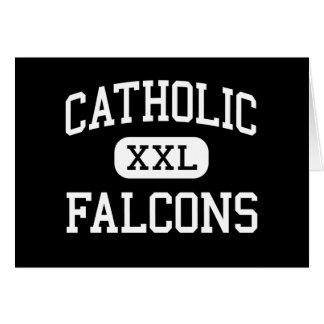 Catholic - Falcons - High - Huntsville Alabama Cards