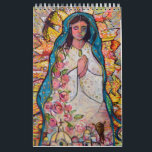 "Catholic Folk Art Calendar by Jen Norton<br><div class=""desc"">Celebrate the Joy of the Catholic faith all year with this colorful calendar featuring the artwork of Catholic folk artist Jen Norton. Perfect for a Christmas or teacher gift too!</div>"