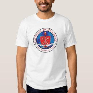 Catholic Homeschool Crest Basic T-Shirt
