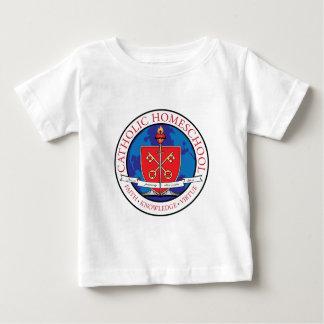 Catholic Homeschool Crest Infant T-Shirt