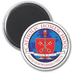 Catholic Homeschool Crest Magnet