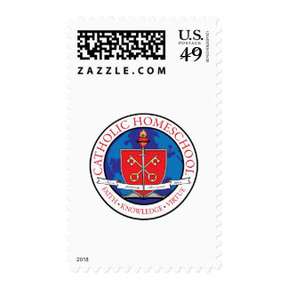 Catholic Homeschool Crest Stamp