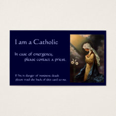 Catholic Id Card