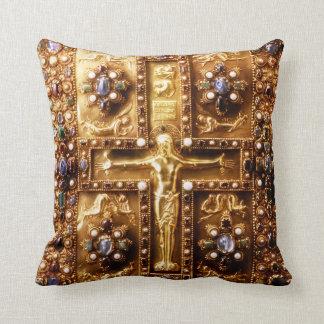 Catholic Landau Gospels Throw Pillow