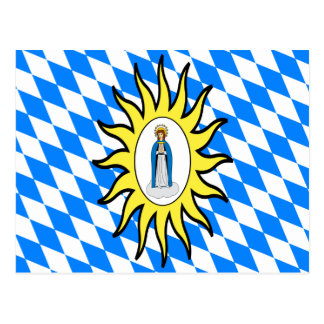 Catholic League Flag 30 Years War Mary Gift Mother Postcard