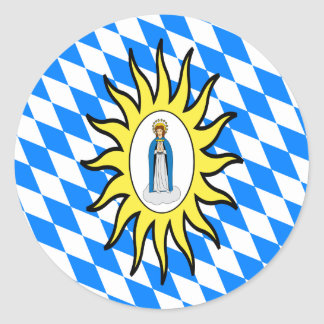 Catholic League Flag 30 Years War Mary Gift Mother Sticker