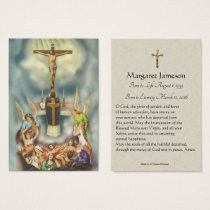 Catholic Mass Sympathy Condolence Holy Card