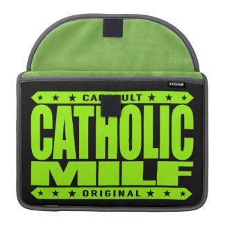 CATHOLIC MILF - A Devoted Mother I'd Like To Faith Sleeve For MacBooks