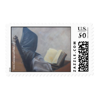 Catholic Monk  Postage stamp