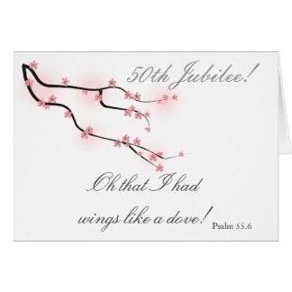 """Catholic Nun """"50th Jubilee"""" Card"""