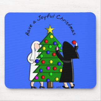 Catholic Nun Art Christmas Cards & Gifts Mouse Pad