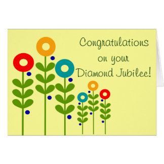 Catholic Nun Diamond Jubilee Card 2