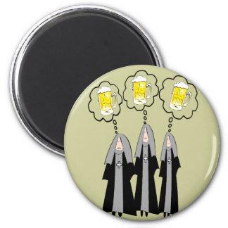 Catholic Nun Gifts~~Hilarious 2 Inch Round Magnet
