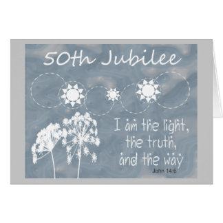 """Catholic Nun """"Golden Jubilee"""" Card"""